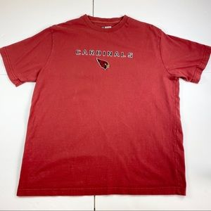 NFL Arizona Cardinals T Shirt Mens XL